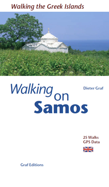 Walking on Samos - Walking and swimming on Greek Islands