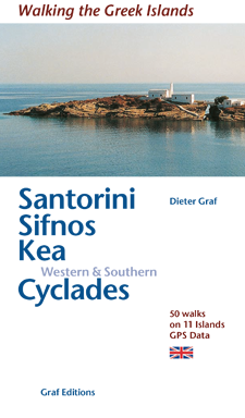 Santorini, Sifnos, Western & Southern Cyclades - Walking and swimming on Greek Islands