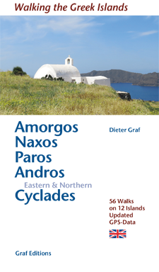 Amorgos, Naxos, Paros, Andros, Eastern & Northern Cyclades - Passeggiare e nuotare nelle isole greche
